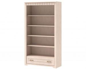 Шкаф книжный высокий TIROL 16 Vanil