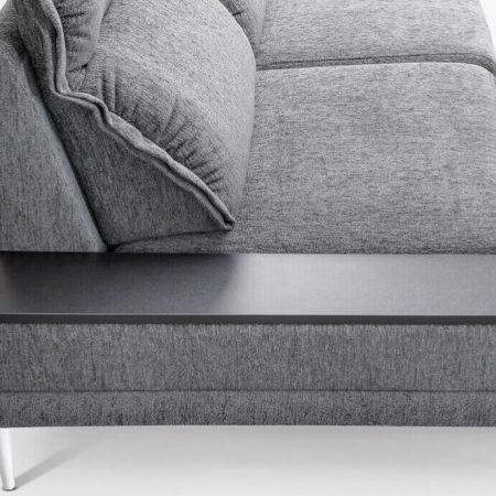 Угловой диван Jazz-Max с полкой