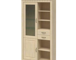 Шкаф высокий TIROL 38 Vanil