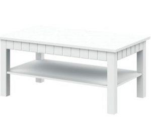 Журнальный стол TIROL 40/45 White Arctic