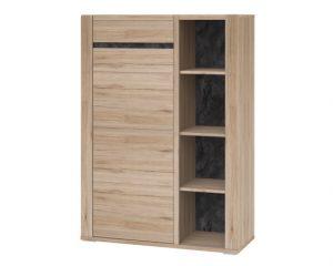 Книжный шкаф низкий Modesto 05L