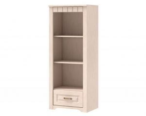 Шкаф книжный низкий TIROL 01 Vanil