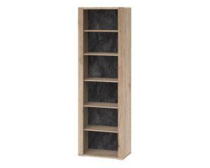Книжный шкаф высокий Modesto 13