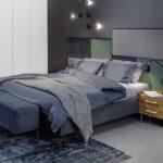 Мягкая кровать, Литва, купить в Киеве, в Украине, кровать Домино мега, классика, Европейский стиль, мягкая кровать для спальной комнаты, Купить мягкую кровать в Киеве через интернет
