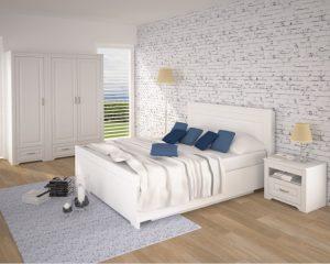 Шкаф двухдверный TIROL 54 white