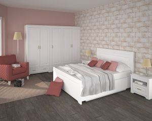 TIROL WHITE BEDROOM