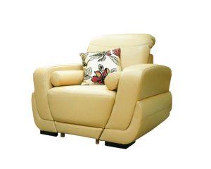 Кресло ATLANTIC в коже Samoa Lux