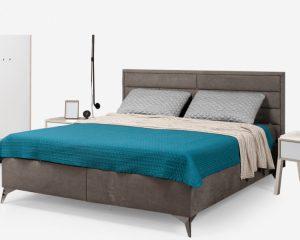 Кровать SVAJA 160 Fame 160 grey
