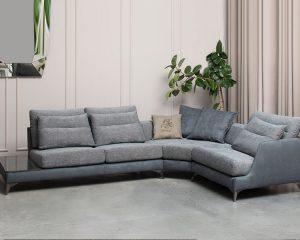 Угловой диван VYTIS MAX с полкой